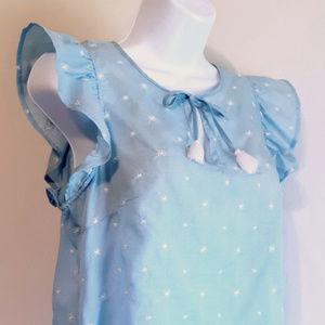 Gilligan & O'Malley Sleepwear Floral Top Women's